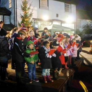 Children of Wortham Primary School Singing Carols